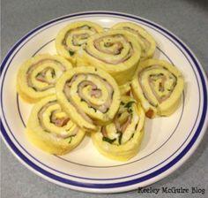 #Gluten Free #Breakfast Spirals #Recipe - MOMables® - Healthy School Lunch Ideas.