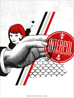 GigPosters.com - Interpol - Liars