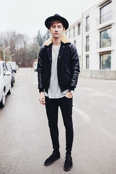 Christoph Schaller - A Kind Of Guise Golden Sun Jacket, Acne Studios Tee, Acne  Studios Jeans ae462bfecf