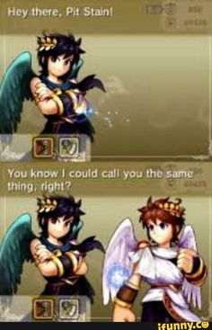 Getting More Fun And Enjoyment From Video Games Video Games Funny, Funny Games, Wonder Red, Kid Icarus Uprising, Bad Memes, Super Smash Bros, Anime Comics, Fire Emblem, Legend Of Zelda