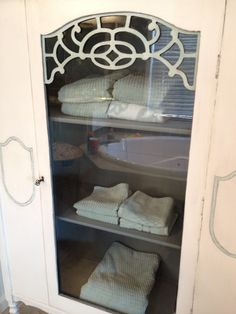 Brooke's China Cabinet - AFTER