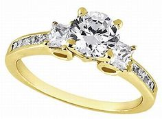 Princess Cut Diamond Engagement Rings Gain Popularity