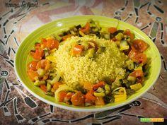 Cous Cous con verdure al profumo di agrumi  #ricette #food #recipes