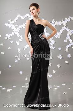 Admirable Best Sell Fashion Black One Shoulder Hottest Prom Dress