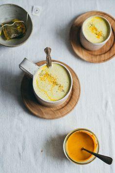 Golden Dandelion Latte | dolly and oatmeal