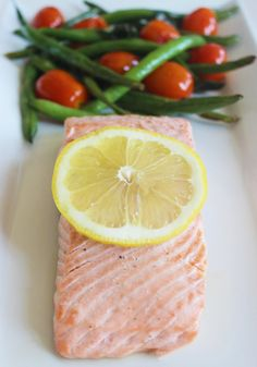 Seafood can be incredibly scary for people to cook at home, but it shouldn't be! Not only is the salmon recipe quick to make, it's full of protein.