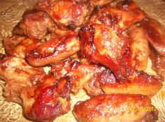 Yum... Id Pinch That!   Slow Baked Chicken Wings