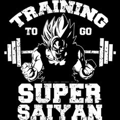 Training to go Super Saiyan is a Zip Hoodie designed by guzikArt to illustrate your life and is available at Design By Humans