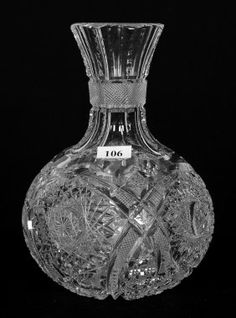 """WATER CARAFE - 8.25"""" - ABCG"""