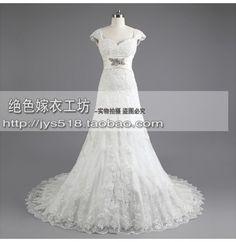 2013 novos mangas vestido um ombro vestido alto grau exportação casamento vestido de casamento nupcial
