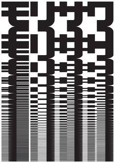 john maeda | The 10 Morisawa Posters by John Maeda