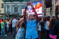 My selfie show organizzato da Vodafone a Piazza Dante il 29 Giugno 2014 foto di Serena Faraldo per AGiSco #giugnogiovani www.giugnogiovani.it