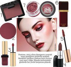 marsala makeup - Google Search