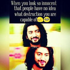 @Regrann from @_ms_creations_ - . Shakal se shareef par masti khor!! Yeah I am that type of a person His smile his looks He has such an intense look❤ And that smirk too kunaljaisingh #Regrann