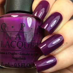 OPI's Plugged-In Plum