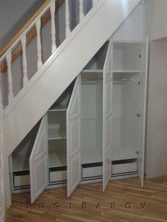 Home Stairs Design, Interior Stairs, Home Room Design, Home Interior Design, Living Room Furniture Inspiration, Home Decor Furniture, Staircase Storage, Stair Storage, Under Stairs Storage Solutions
