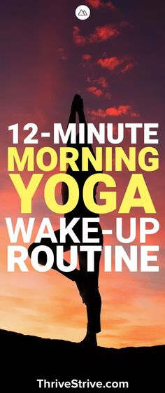 Morning yoga is a great way to wake up and get limber in the morning. Start your day off right with this 12-minute morning yoga session.