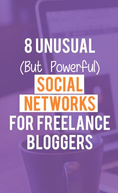 8 Unusual (But Powerful) Social Networks For Freelance Bloggers: Which social networks have you used to build the strongest community around your blog so far?  There are more social networks and communities out there, some pretty unusual and little-heard among bloggers, but definitely powerful if you play your cards well.