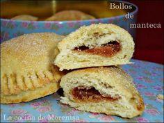 Deliciosos y tradicionales, estos bollos caseros  hechos con manteca de cerdo que se elaboran en algunos hornos y pastelerías de mi local...