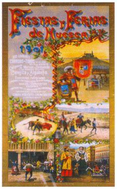 Cartel Fiestas de San Lorenzo 1901
