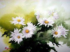 꽃 수채화 - Google 검색