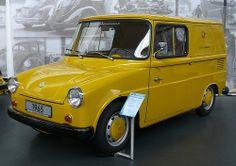 VW Typ147 Fridolin Kleinlieferwagen 1965 yellow Deutsche Bundespost (VW Type147 Fridolin small delivery van 1965 yellow German Federal Post Office)