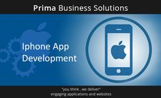 Professionals trust on us for our Custom iPhone application development services. Accompany your audience everywhere and experience Prima Business Solutions' fast and dazzling iPhone apps sevices!