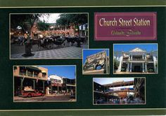 Church Street Station in it's heyday Old Florida, Historical Photos, Small Towns, Wonderful Places, Orlando, Places Ive Been, Memories, Street, Life