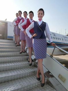 【China】 China Southern Airlines cabin crew / 中国南方航空 客室乗務員 【中国】 China Southern Airlines, Airline Cabin Crew, Cowboy Outfits, China China, Flight Attendant, These Girls, Female, Lady, How To Wear