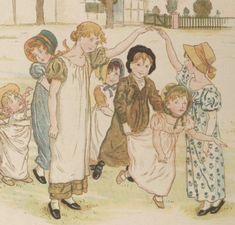 Poèmes enfantins / par Jane Taylor et Ann Taylor ; illustrations de Kate Greenaway ; traduction libre de J. Girardin   Gallica