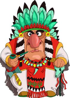 """Photo from album """"Национальности"""" on Yandex. Kids Cartoon Characters, Chibi Characters, Cartoon Kids, Cartoon Art, Cactus Cartoon, American Indian Art, Native American Art, The Pirates, Wild West Party"""