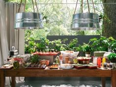 How to Make a Light Fixture From a Galvanized Bucket   how-tos   DIY