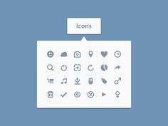 24 Icons by Daniel Fass nice rounded icons