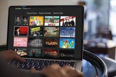 Hulu on laptop