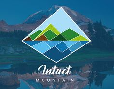 """Check out new work on my @Behance portfolio: """"Intact - Mountain  LOGO"""" http://be.net/gallery/48926777/Intact-Mountain-LOGO  #mountainlogo #logo #simplelogo #logotype"""