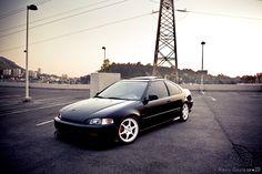 Honda Civic EJ by ~alexisgoure on deviantART Honda Civic 1995, Honda Civic Si Coupe, Civic Coupe, Civic Sedan, Honda Civic Type R, Honda Bikes, Honda S, Civic Eg, Honda City