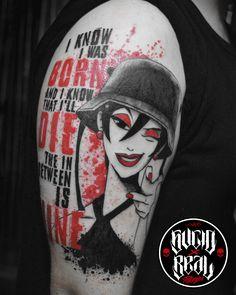 Frase e ilustración de Pearl Jam para Martín Daneri en el estudio Sucio X Real Tatuajes (Gualeguaychú - Entre Ríos) #Tattoo #Tatuaje #Argentina #TattooArgentina #Gualeguaychú #LaPlata #TattooGualeguaychú #TattooLaPlata #Ink #SucioXReal #SantoUno #Art #TattooArt #Trash #Polka #TrashPolka #PJ #PearlJam #DoTheEvolution #IAmMine Do The Evolution, Evolution Tattoo, Body Art Tattoos, Cool Tattoos, Tatoos, Pearl Jam Tattoo, Tatuaje Trash Polka, Tattoo Argentina, Trash Polka Tattoo