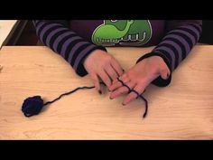 How to finger knit. - YouTube