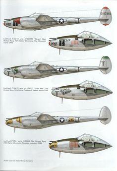 Great planes. P-38 Lightning by Lockheed