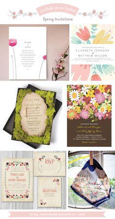 Spring Invitations  // Invitaciones Primaverales