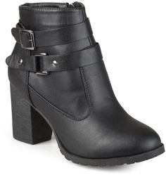 Journee Collection Qposh Women's Heeled Ankle Boots