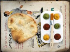Edible Tales, Buenos Aires - We served them edible papers, a crispy flatbread, and a paintbrush with 3 edible paints nestled in a an artist's palette. #events