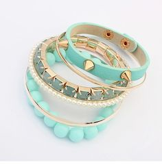 New European And American Punk Rivet Multilayer Bracelet - US$2.26 - Products - beaded bracelet beads shop at Costwe.com