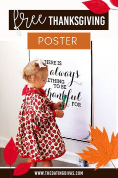 Free Thanksgiving Posters Thanksgiving Signs, Free Printables, Activities, Fun, Poster, Crafts, Manualidades, Free Printable, Handmade Crafts