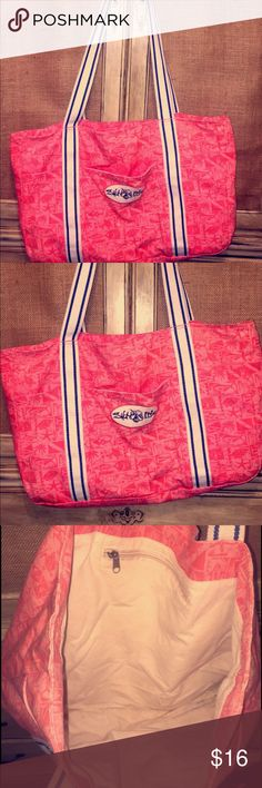 Salt life beach canvas bag or getaway tote Great condition canvas bag Salt Life Bags Totes