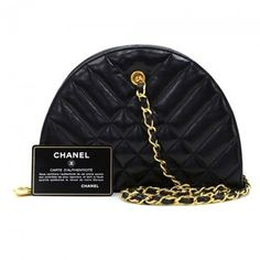 Chanel Vintage Quilted Leather Small Shoulder Bag $1,600