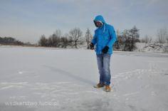 Ice fishing in Poland. Wędkarstwo podlodowe w Polsce. http://www.youtube.com/wedkowanie