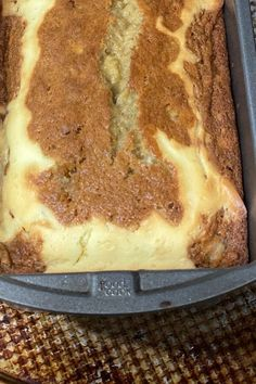 "Cream Cheese Banana Bread | ""Hands down the best banana bread I've ever made, and I am super picky! It is moist, flavorful, with just the right balance of sweetness. "" #bread #breadrecipes #bakingbread Just Desserts, Delicious Desserts, Yummy Food, Tasty, Banana Bread Recipes, Cake Recipes, Dessert Recipes, Timmy Time, Dessert Bread"