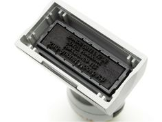 Laser engraving for pre-inked rubber stamps | Trotec Laser Systems | Manufacture Rubber Stamps and Text Plates