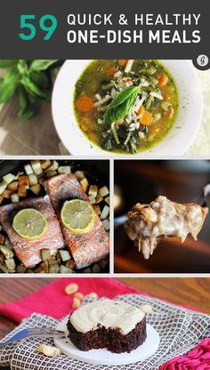 59 Healthy One-Pot Meals